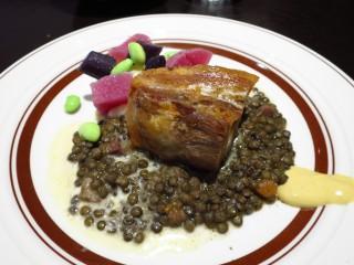 アヴァロンテ 豚バラ肉のキャラメリゼ