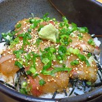 守口市 『鮨喰処 山河』 香川県オリーブぶりゴマ丼の美味しさにウルトラビックリ!!!