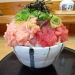 淀 ランチ 『魚楽』 ここのマグロ2色丼のCPにウルトラビックリ!!!