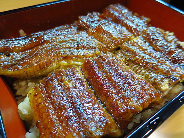 旬菜旬魚 きくの 鰻重アップ