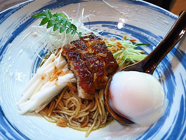 旬菜旬魚 きくの うなぎの和え麺