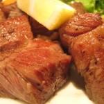 大阪市都島区 『ビフテキ ファイヤープレート』 サーロインステーキ定食安くておいしいですね~~