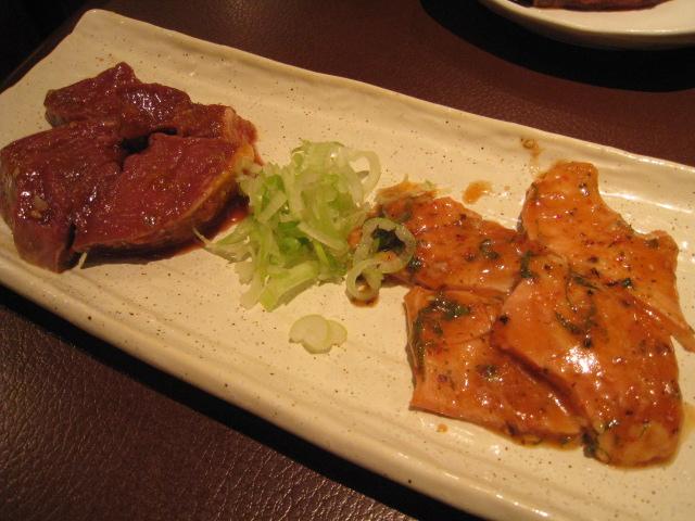 味噌漬けハート、梅タケノコ