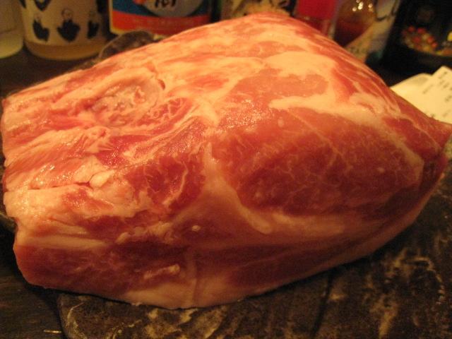 藏尾ポーク 肉の固まり