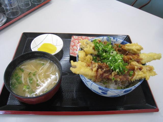 あさかなハウス ジャンボ穴子天丼