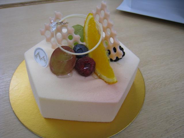 東京、自由が丘のモンサンクレールのケーキ