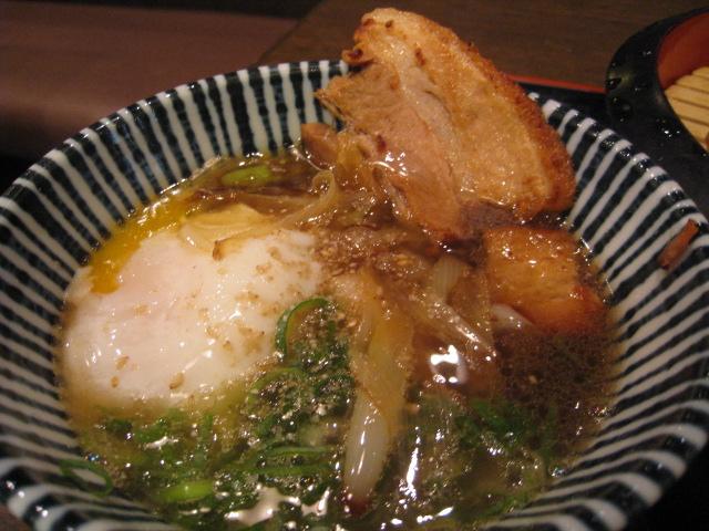 讃州 ざるチャ-シュー つけ汁1