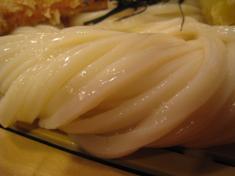 讃州 ざるチャ-シュー 麺アップ