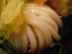 讃州 ぶっかけうどん やなもりスペシャル 麺アップ