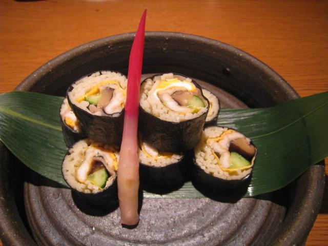 「そば寿司」