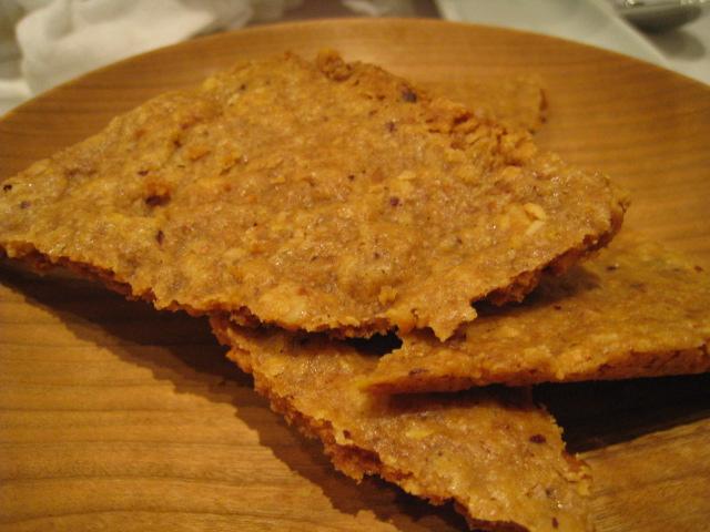川中さんの有精卵とモスカートのザバイオーネ へーゼルナッツのクッキー1