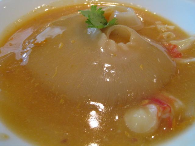 フカヒレの蟹卵煮1