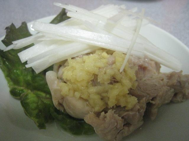 蒸し鶏(小)