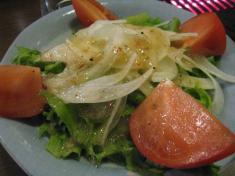 野菜サラダ ドレッシングあり