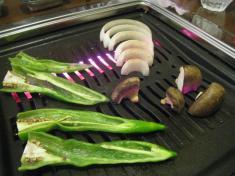 焼き野菜 焼き