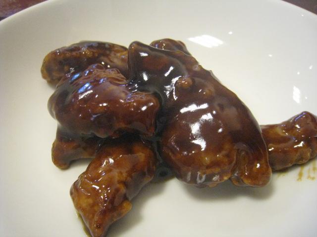 黒酢の酢豚