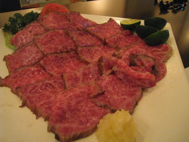 神戸牛のたたき