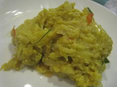 一度食べるとリピーターになるの、間違いなしの白身魚のココナッツ&カレー蒸し「アモック」 アップ