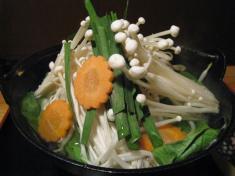 野菜鍋 アップ