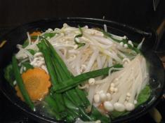 野菜鍋 煮込み1
