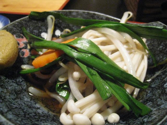 野菜鍋 小皿