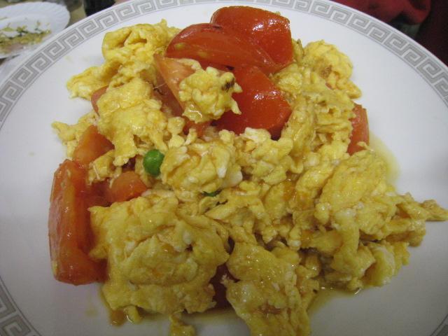 玉子とトマトの炒め煮