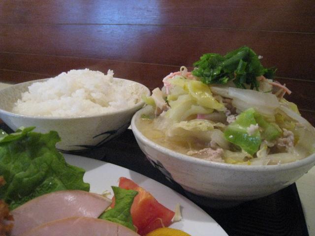 豚汁&ご飯