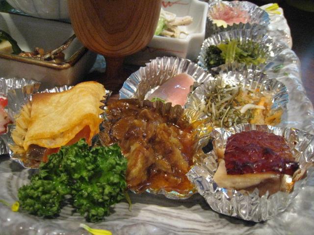 大皿前菜アップ1