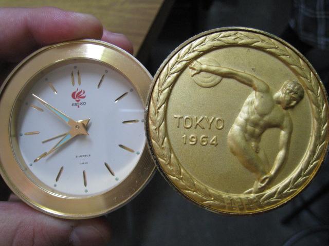 東京オリンピック記念時計 オープン
