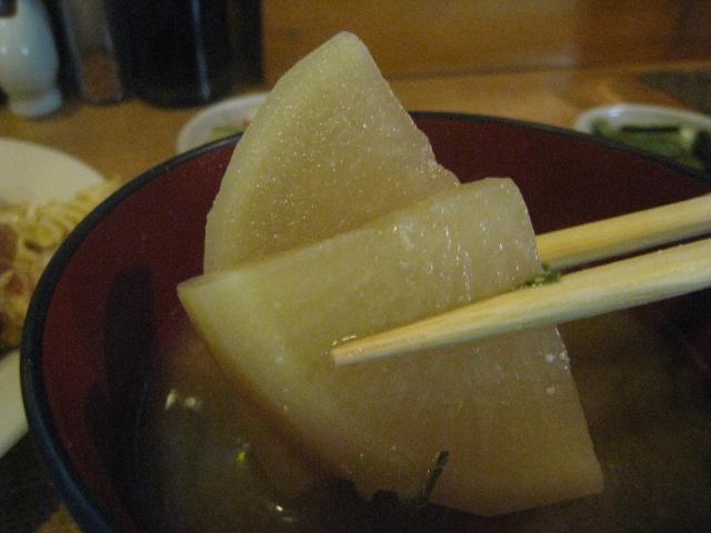 味噌汁 具、箸もち