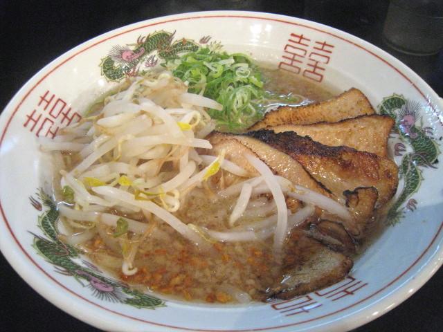 だるま 炙りとろ肉チャーシュー麺 1000円