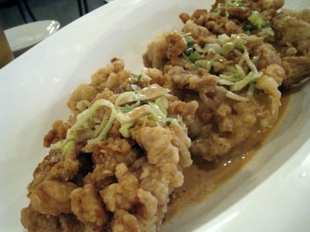 鶏の唐揚げ マヨネーズソース