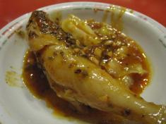 白身魚の四川風煮込み(玉子麺付き) 小皿のせ