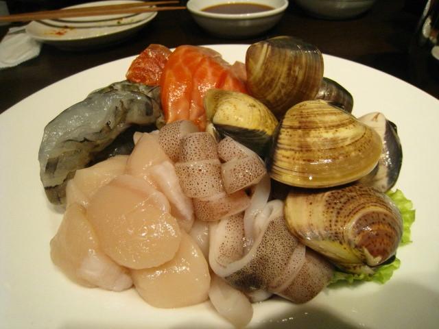 白ワイン鍋用食材 魚介 <br />類アップ