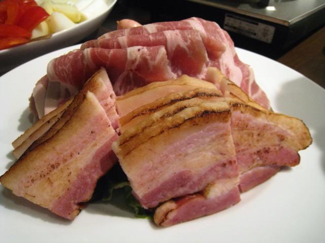 赤ワイン鍋用食材 お肉アップ