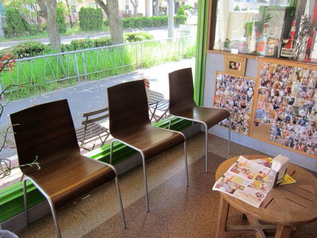 店中 椅子