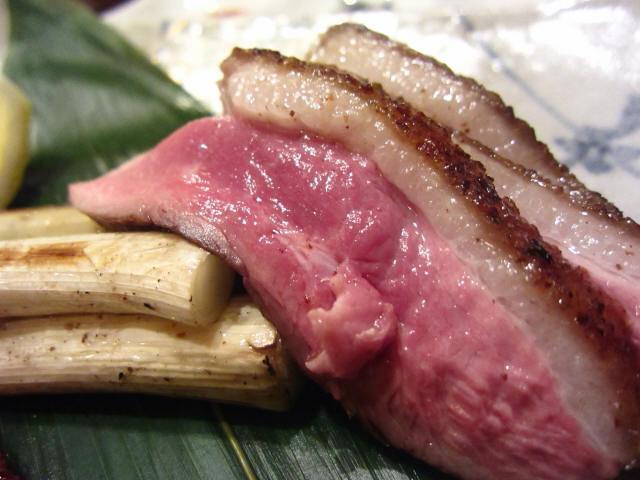大阪名物つむらの鴨肉