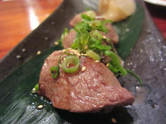 特選霜降り和牛ミスジ炙り寿司