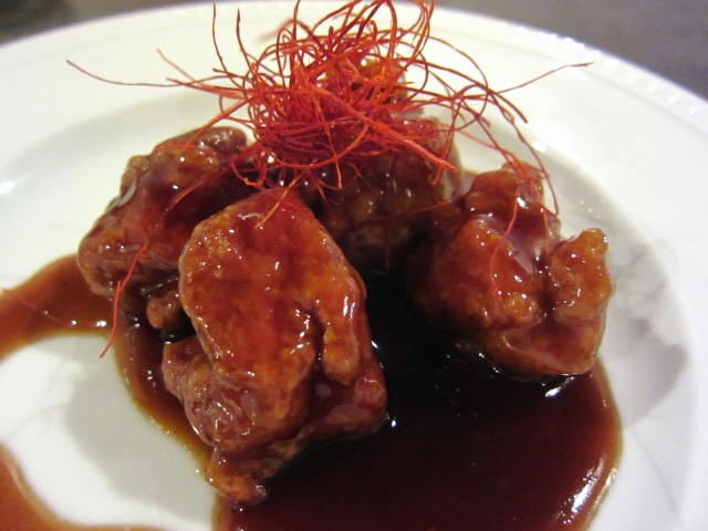 s-鎮江黒酢の酢豚 Sサイズ 500円