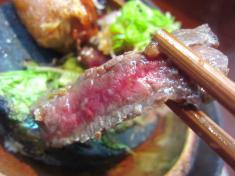 牛肉のあぶり お箸もち