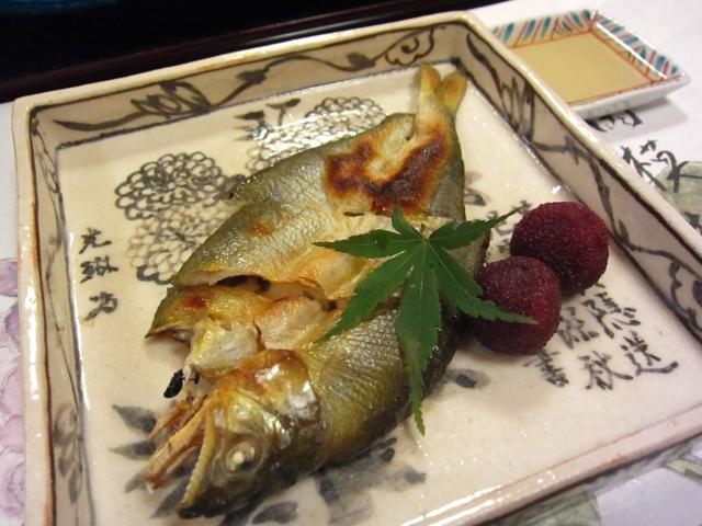 「若鮎の風干し」「山桃蜜煮」「酢取り生じか生姜」
