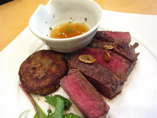 ヘレ肉とフォアグラのソテー 2480円
