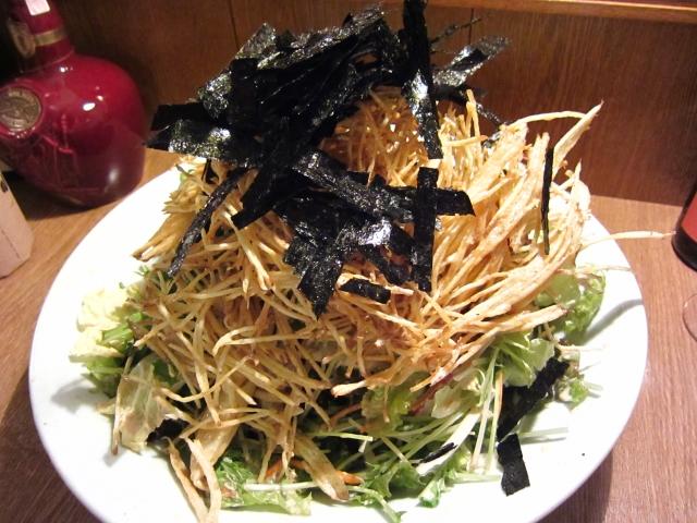カリカリポテトのサラダ
