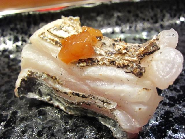 s-五島列島 太刀魚の炙り 手作り梅肉で