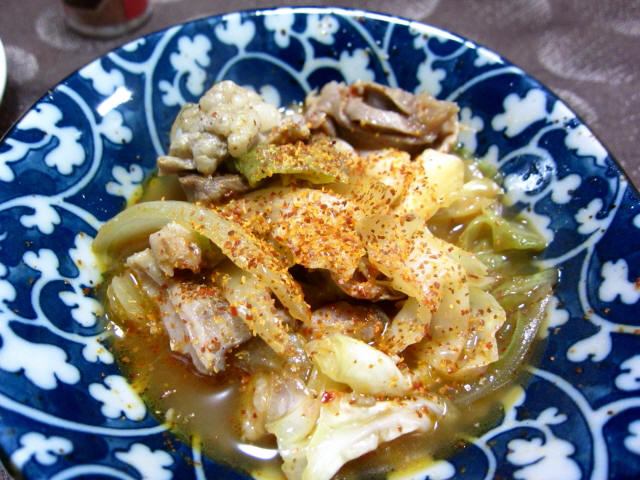 汁焼ホルモンセット 小皿2