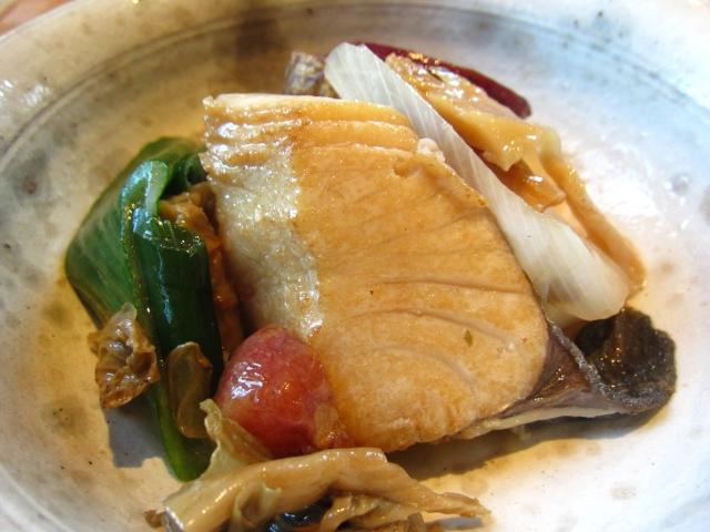 鰆と梅菜の煮込み 小皿