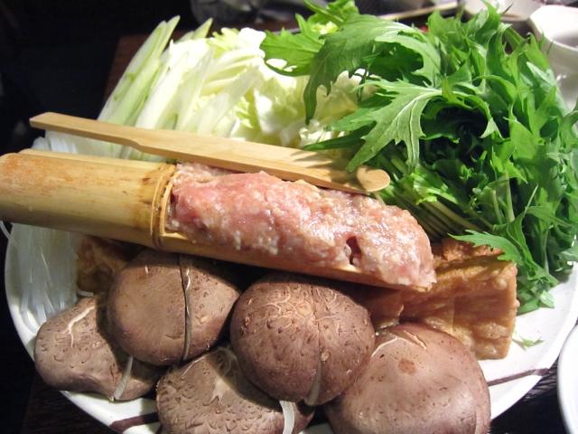 s-鍋 野菜 つくね