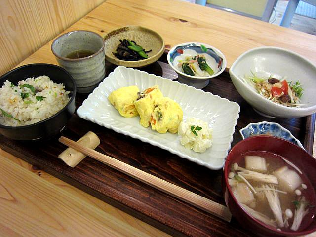 今週のお野菜たっぷりヘルシーランチ 1000円