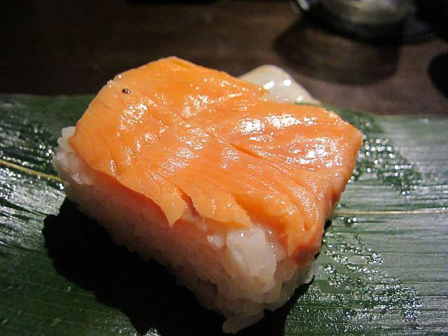 鱒寿司 中身