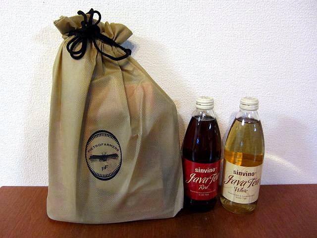 赤車海老のアメリケーヌソース2セット+ジャワティーストレート2本プレゼント